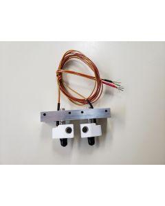 Replicator 2X Bar Mount Assembly- No Heater Cartridges