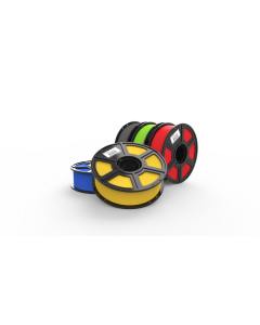 MakerBot Sketch Filament Spool 1.75mm 5 Pack-Blue Yellow Red Green Gray